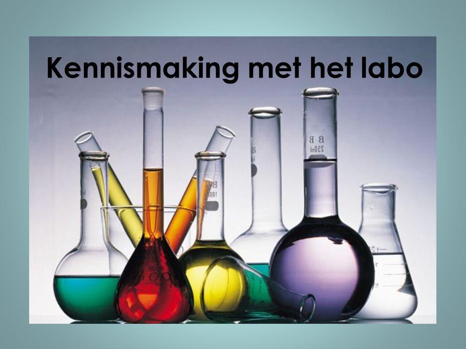 Kennismaking met het labo