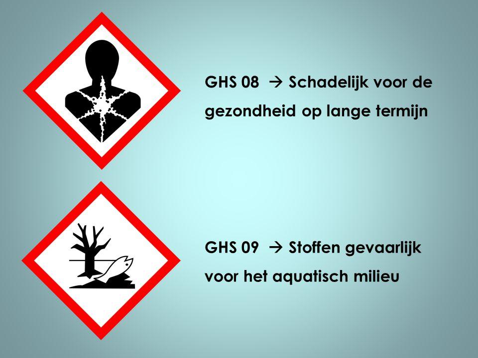 GHS 08  Schadelijk voor de gezondheid op lange termijn