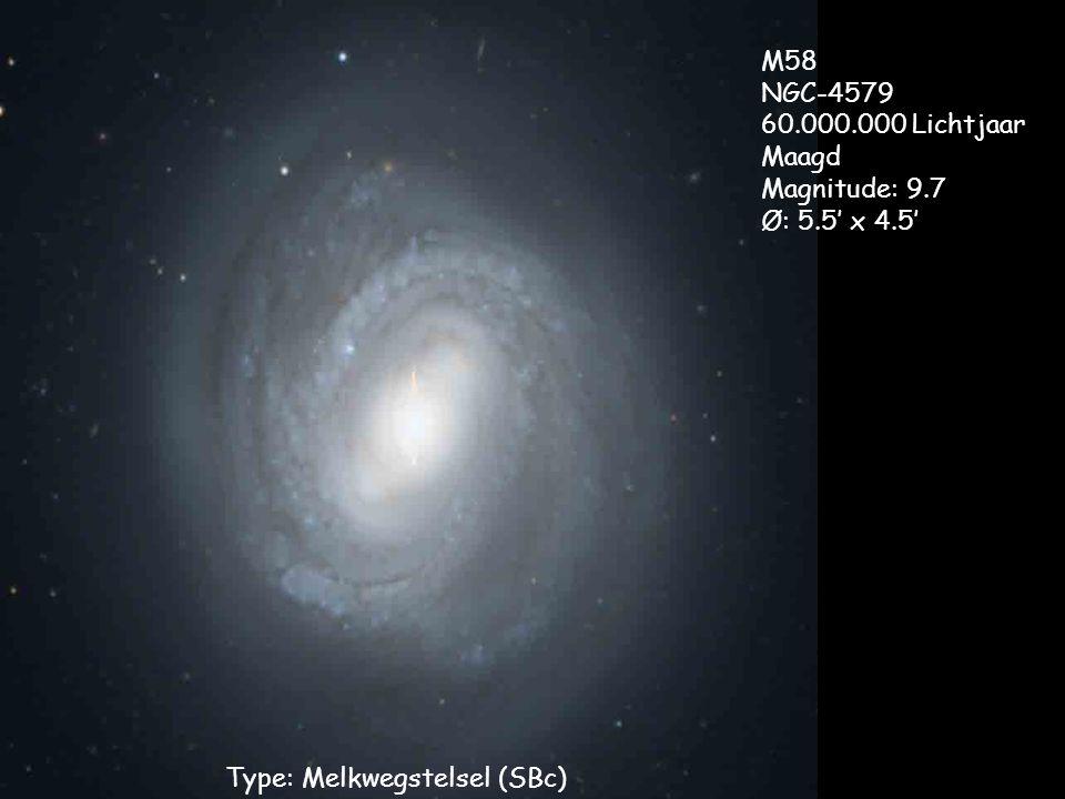 Type: Melkwegstelsel (SBc)