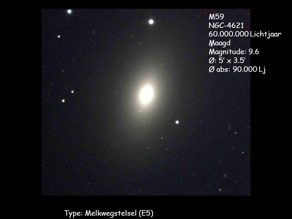 Type: Melkwegstelsel (E5)