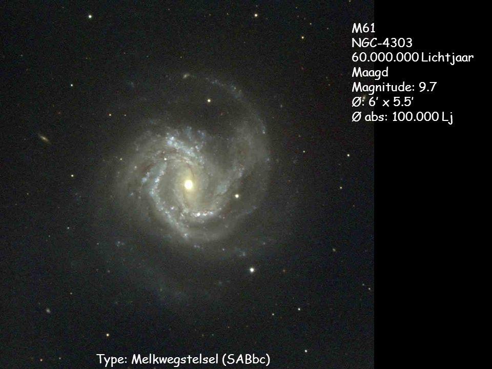 Type: Melkwegstelsel (SABbc)