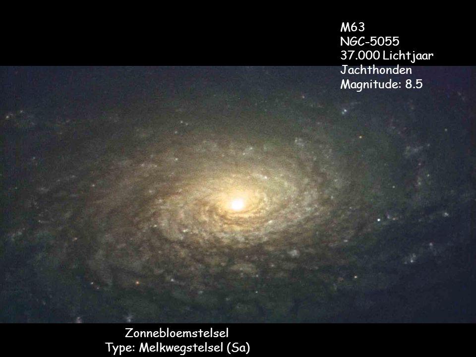 Zonnebloemstelsel Type: Melkwegstelsel (Sa)