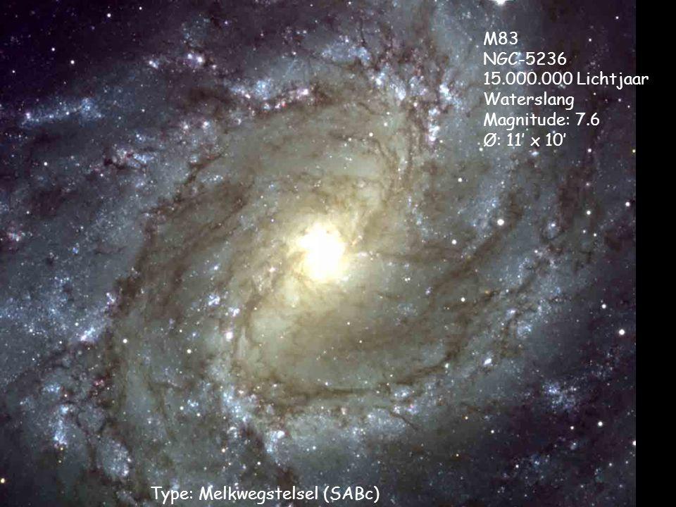 Type: Melkwegstelsel (SABc)
