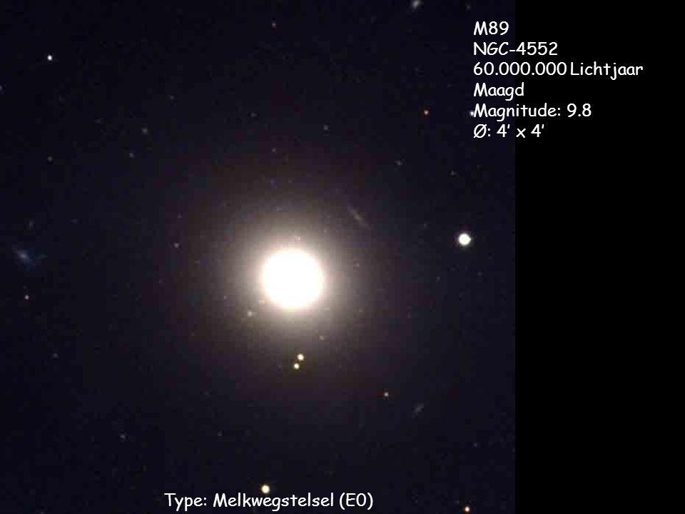 Type: Melkwegstelsel (E0)