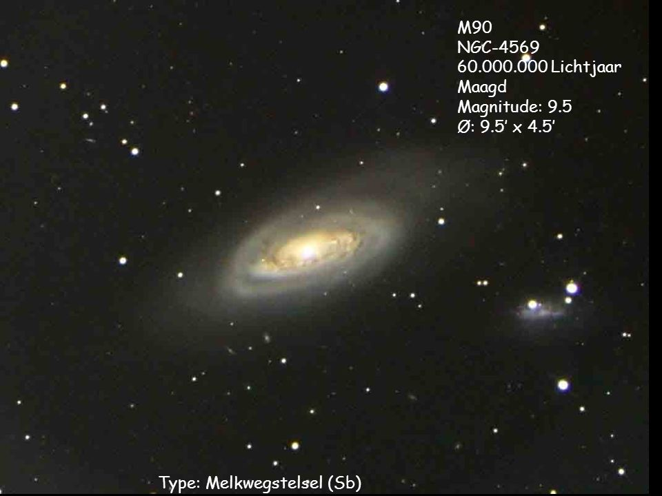 Type: Melkwegstelsel (Sb)
