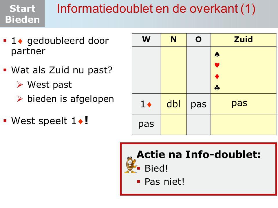 Informatiedoublet en de overkant (1)