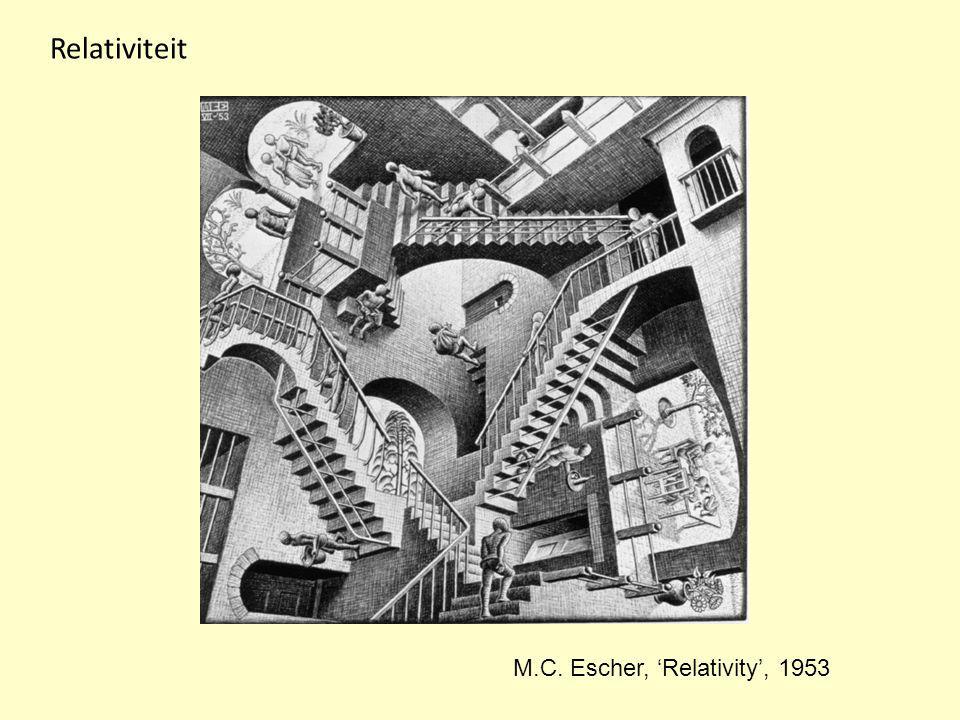 Relativiteit M.C. Escher, 'Relativity', 1953