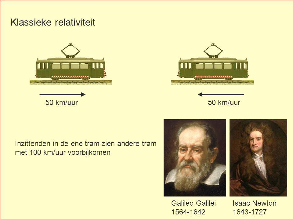 Klassieke relativiteit
