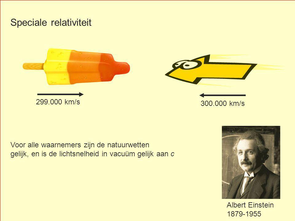 Speciale relativiteit