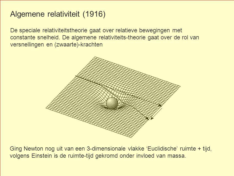 Algemene relativiteit (1916)