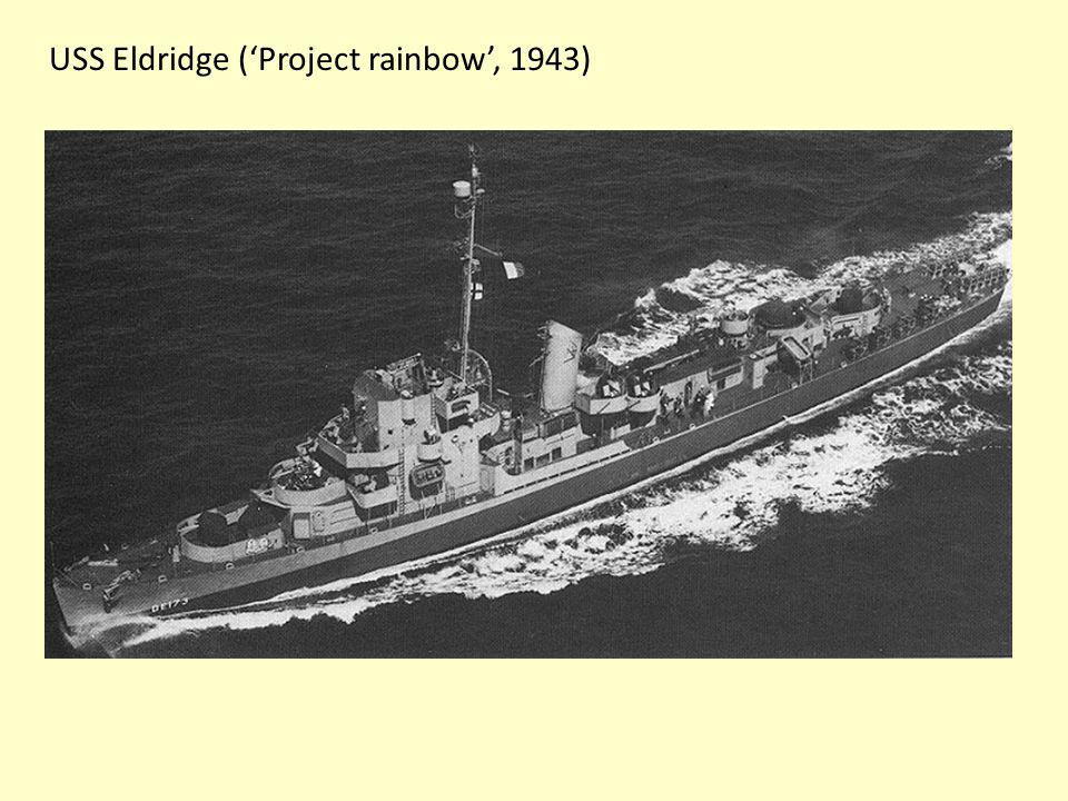 USS Eldridge ('Project rainbow', 1943)