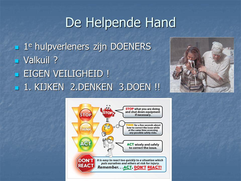 De Helpende Hand 1e hulpverleners zijn DOENERS Valkuil