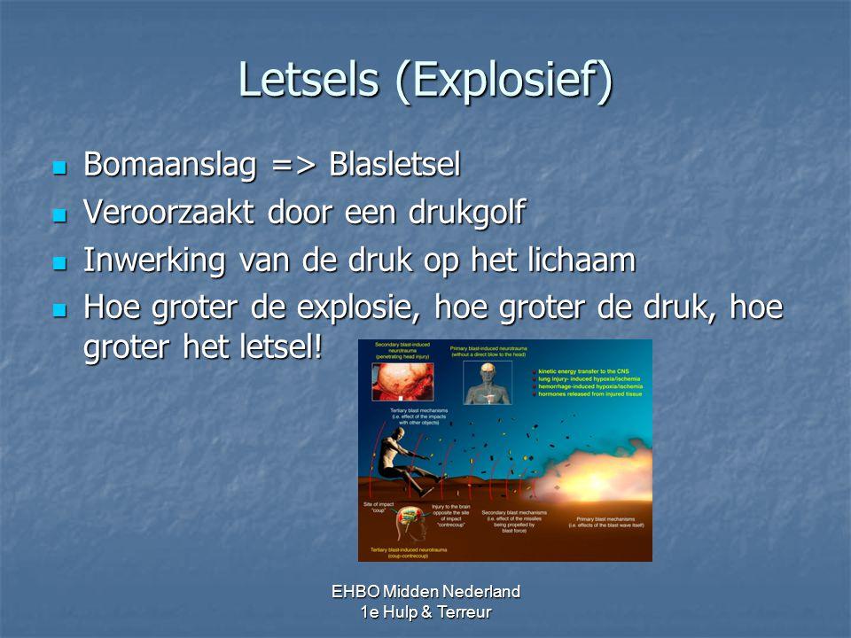 Letsels (Explosief) Bomaanslag => Blasletsel