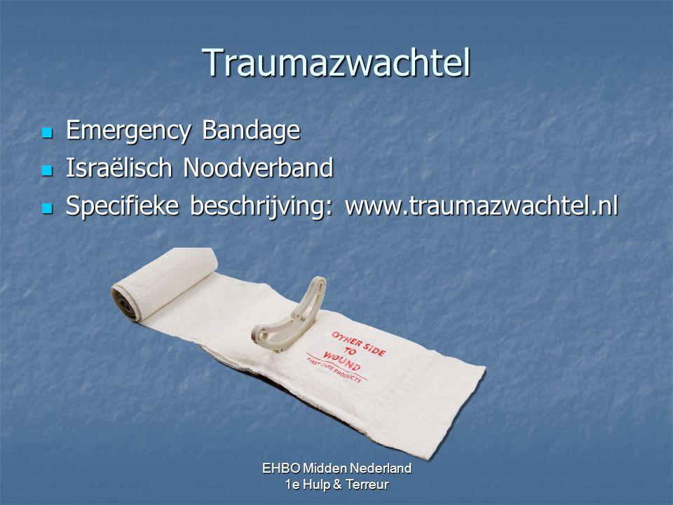 Traumazwachtel Emergency Bandage Israëlisch Noodverband