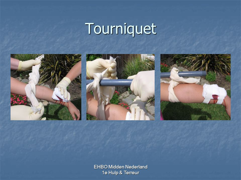 Tourniquet EHBO Midden Nederland 1e Hulp & Terreur 48 – 50