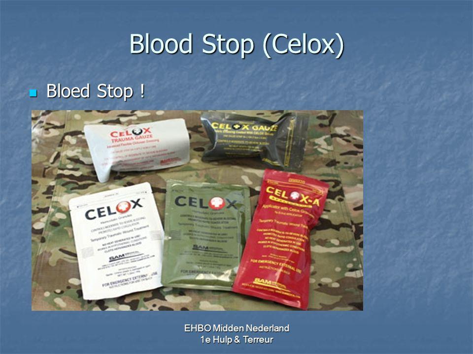 Blood Stop (Celox) Bloed Stop ! EHBO Midden Nederland