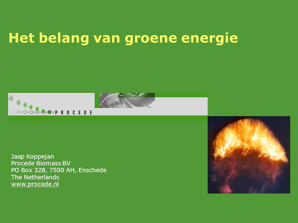 Het belang van groene energie