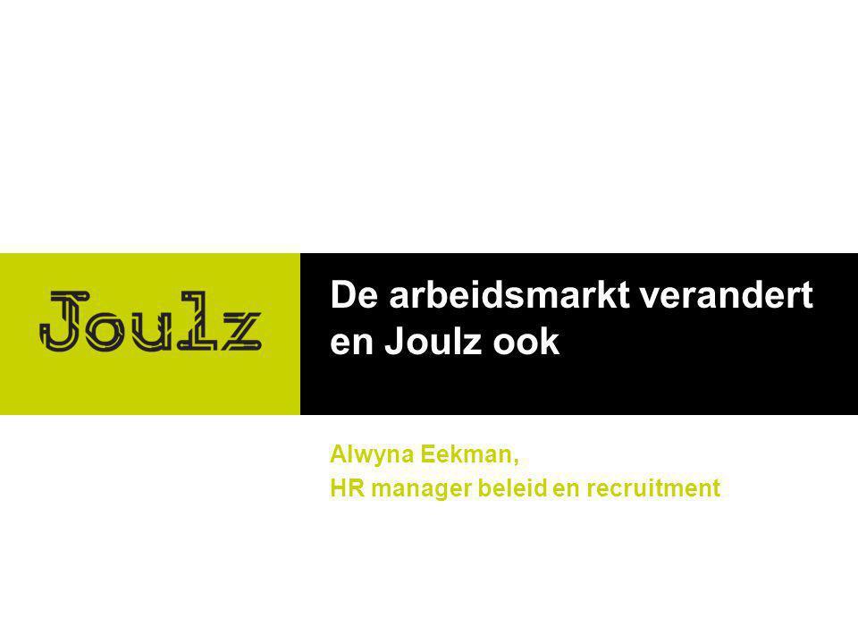 De arbeidsmarkt verandert en Joulz ook
