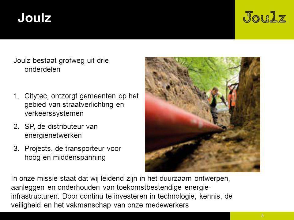 Joulz Joulz bestaat grofweg uit drie onderdelen