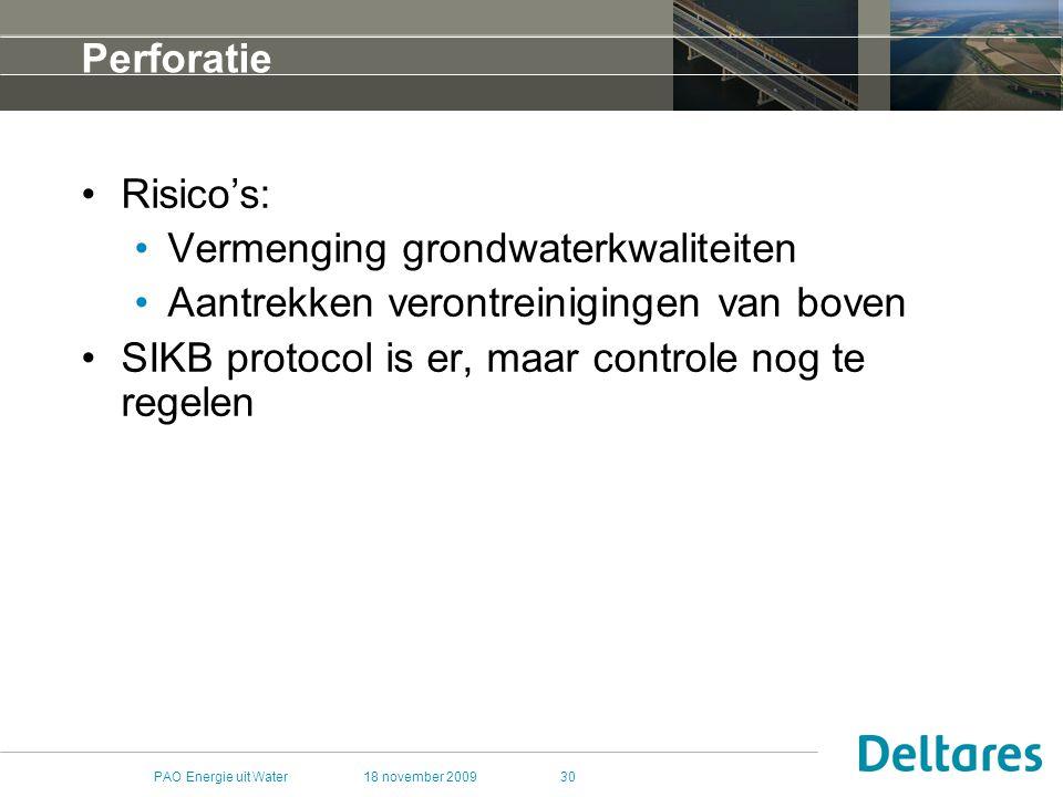 Vermenging grondwaterkwaliteiten