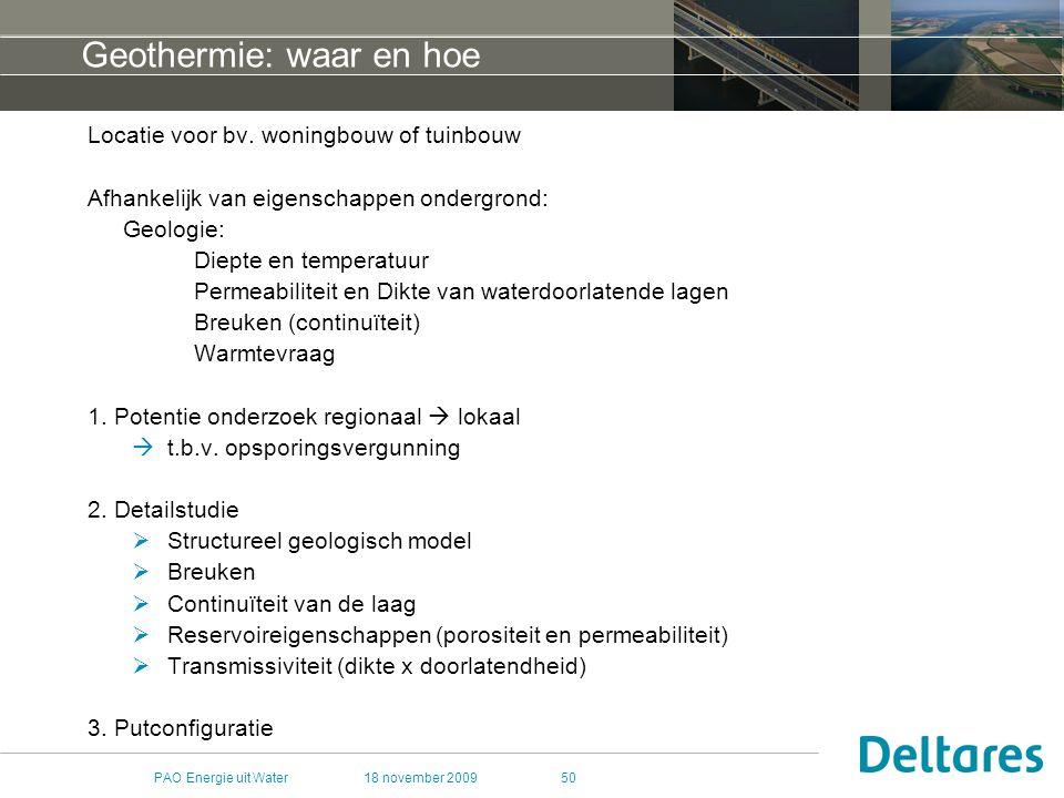 Geothermie: waar en hoe