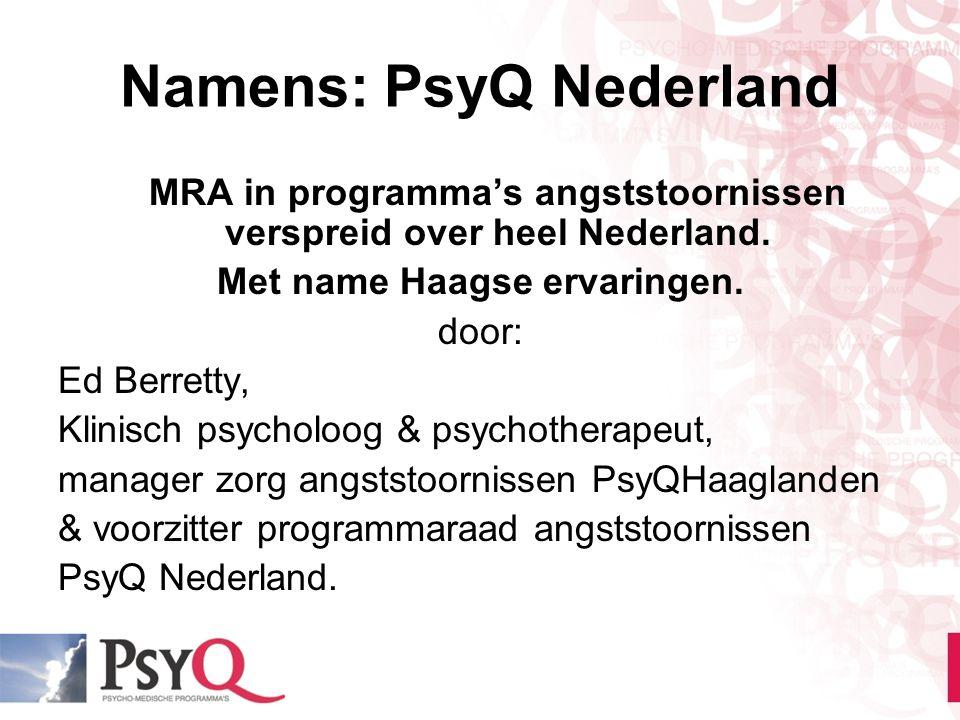Namens: PsyQ Nederland