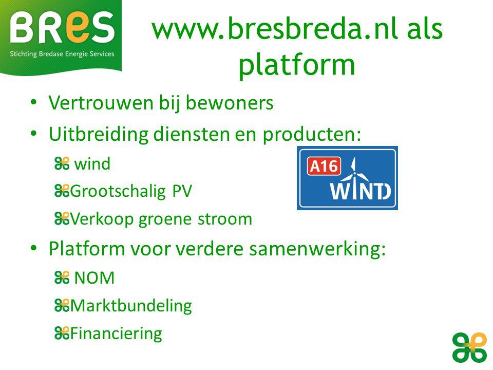 www.bresbreda.nl als platform