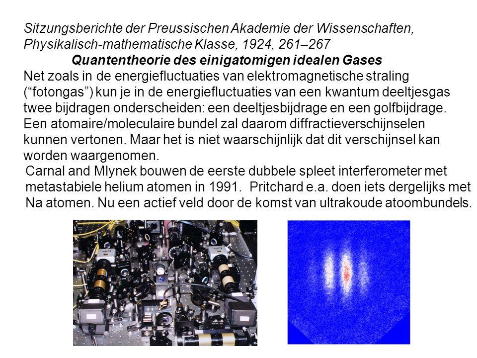 Sitzungsberichte der Preussischen Akademie der Wissenschaften, Physikalisch-mathematische Klasse, 1924, 261–267