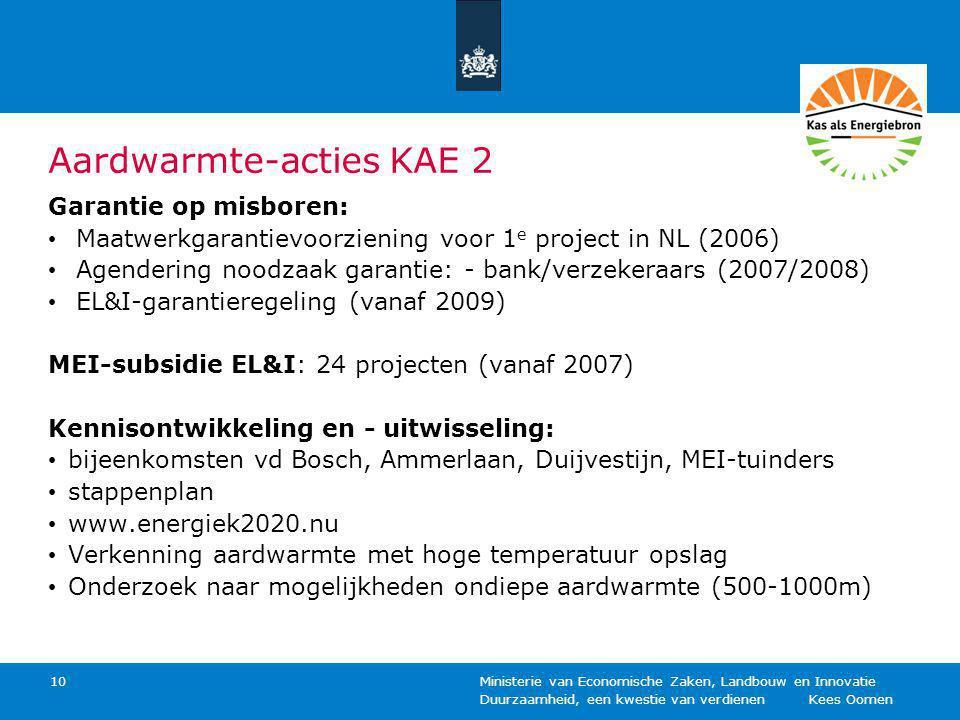 Aardwarmte-acties KAE 2