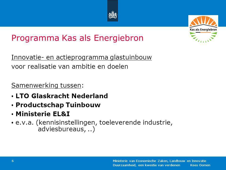 Programma Kas als Energiebron