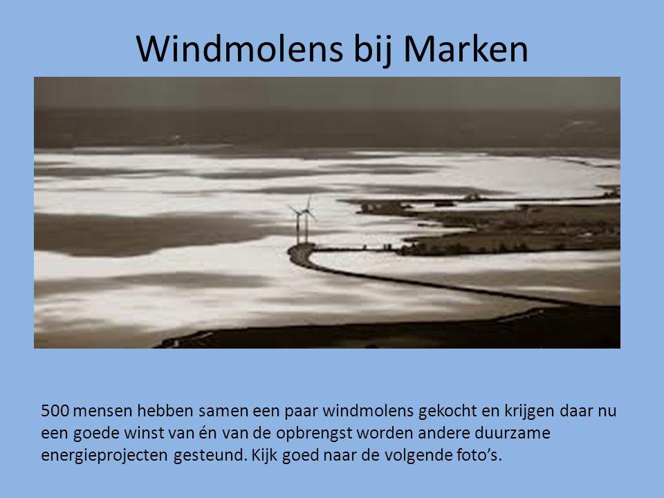 Windmolens bij Marken