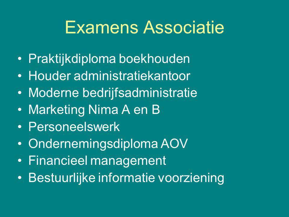 Examens Associatie Praktijkdiploma boekhouden