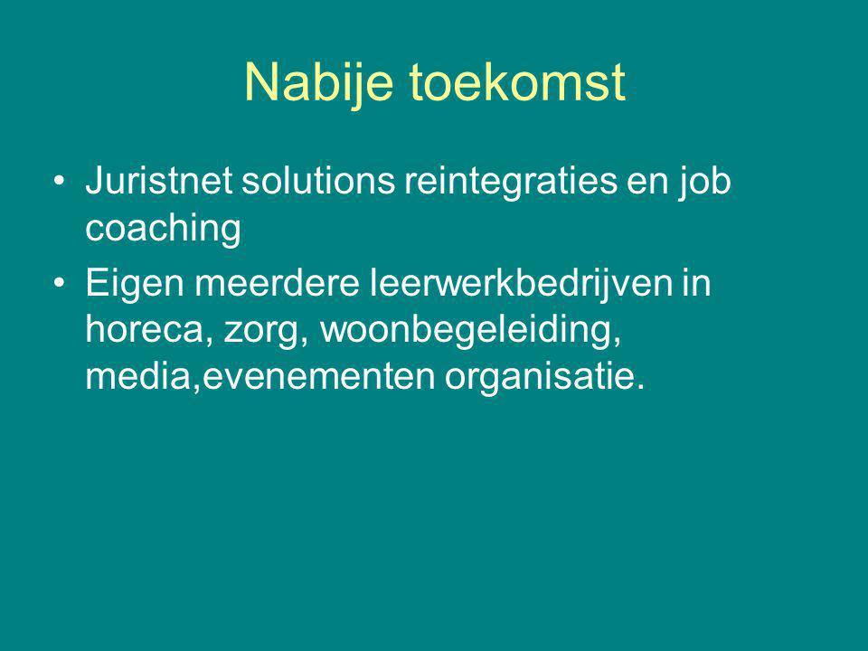 Nabije toekomst Juristnet solutions reintegraties en job coaching