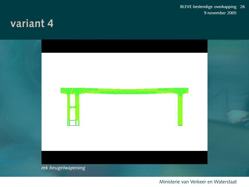 variant 4 rek beugelwapening BLEVE-bestendige overkapping