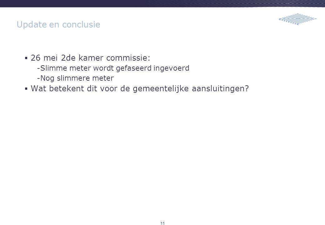 Update en conclusie 26 mei 2de kamer commissie: