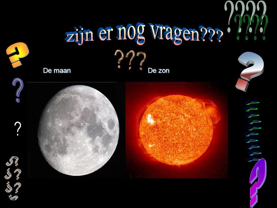 zijn er nog vragen De maan