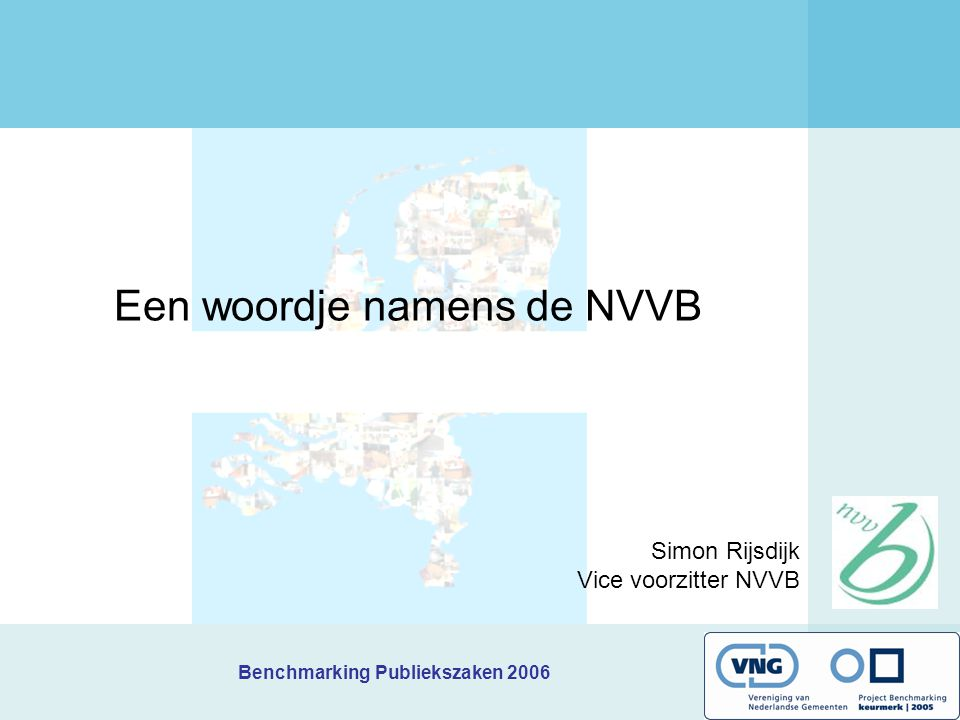 Een woordje namens de NVVB