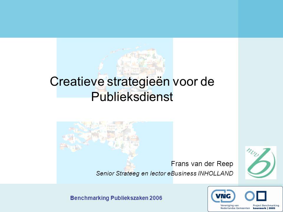 Creatieve strategieën voor de Publieksdienst