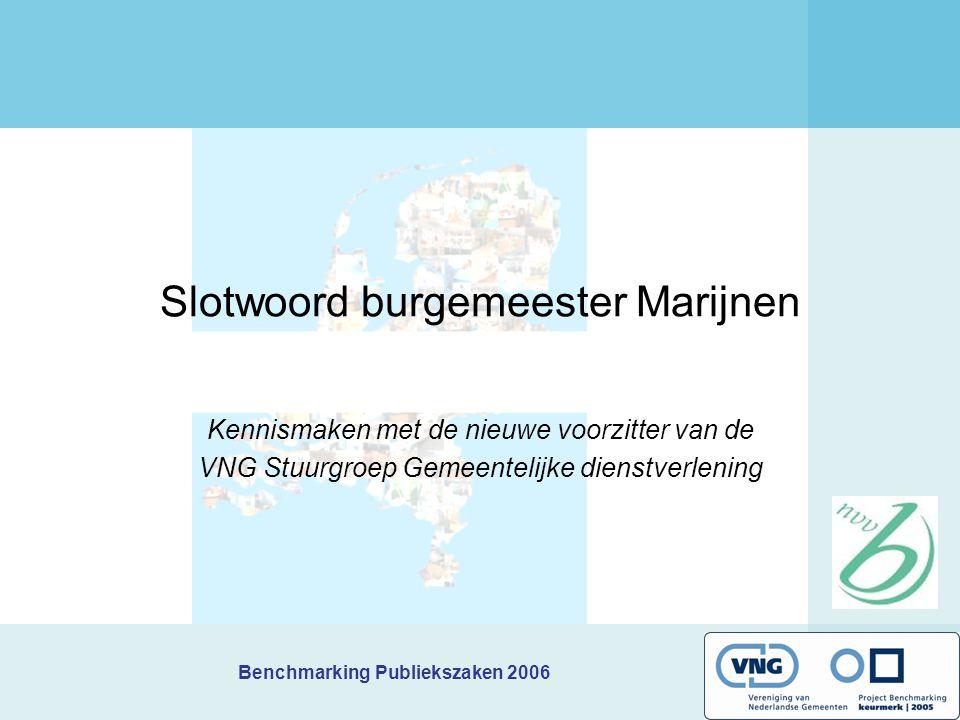Slotwoord burgemeester Marijnen