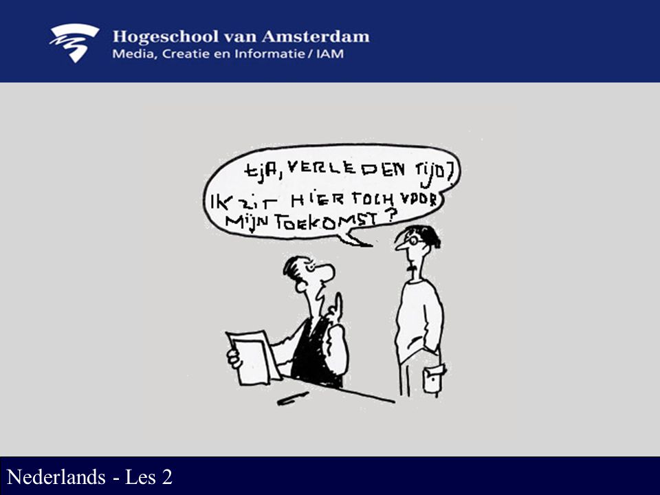 Nederlands - Les 2