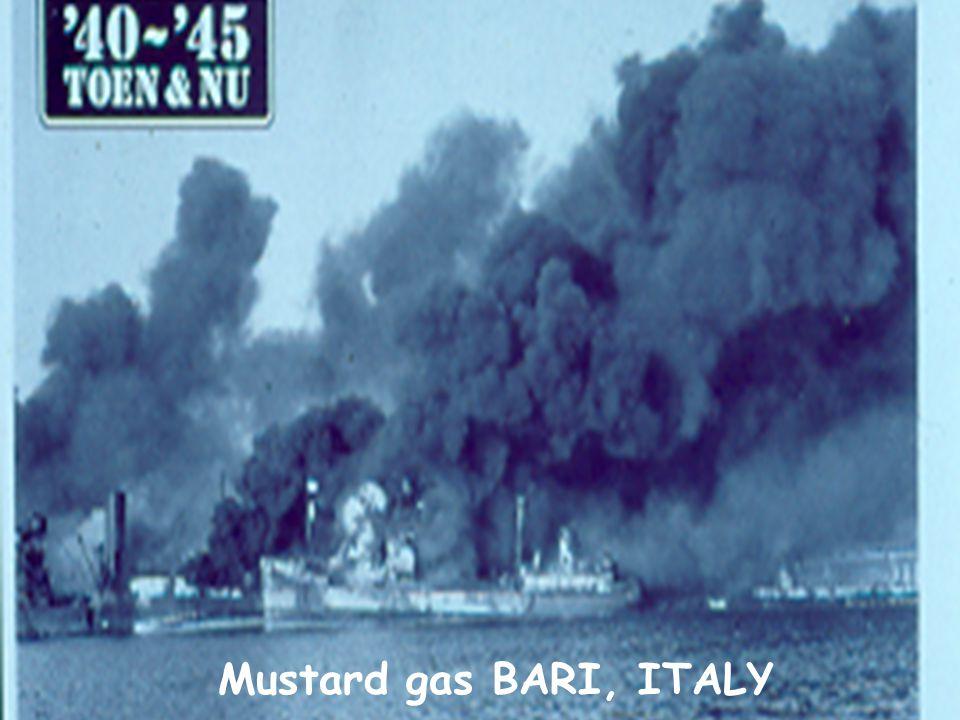 Mustard gas BARI, ITALY
