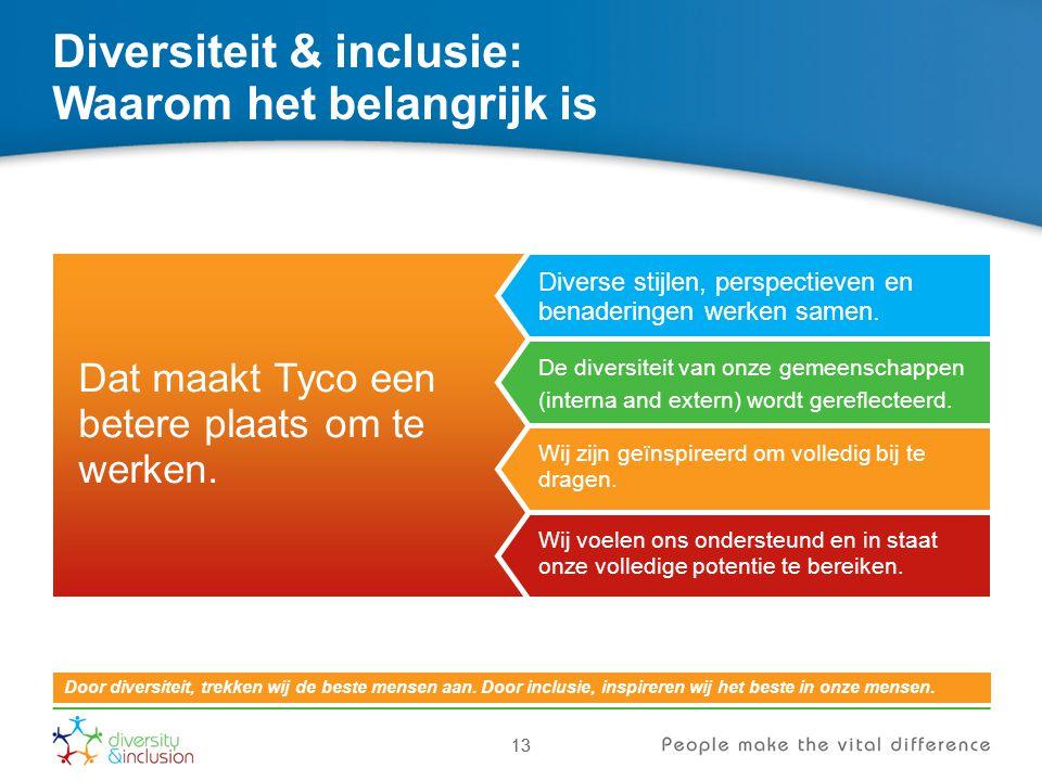 Diversiteit & inclusie: Waarom het belangrijk is