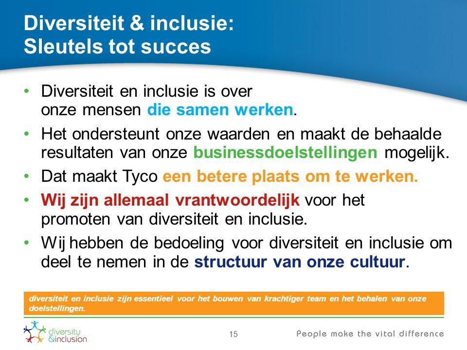 Diversiteit & inclusie: Sleutels tot succes