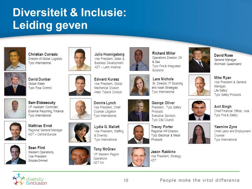 Diversiteit & Inclusie: Leiding geven