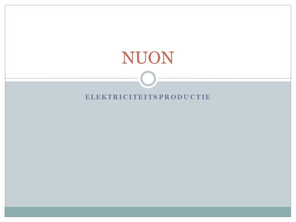 Elektriciteitsproductie