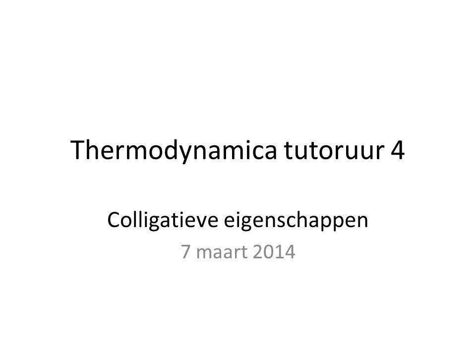 Thermodynamica tutoruur 4