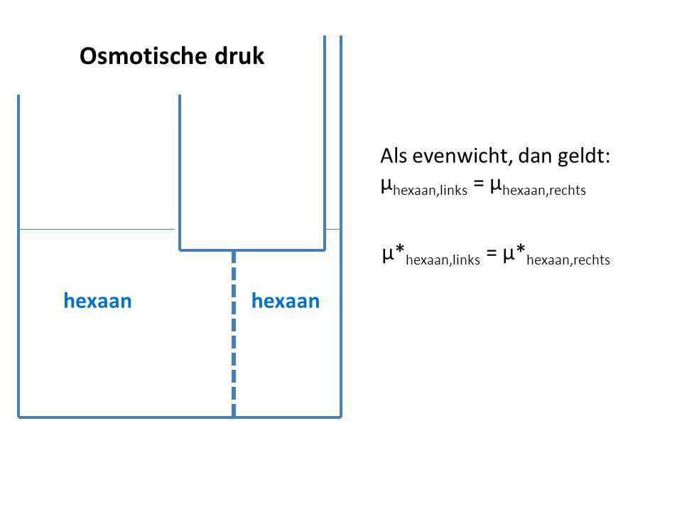 µ*hexaan,links = µ*hexaan,rechts