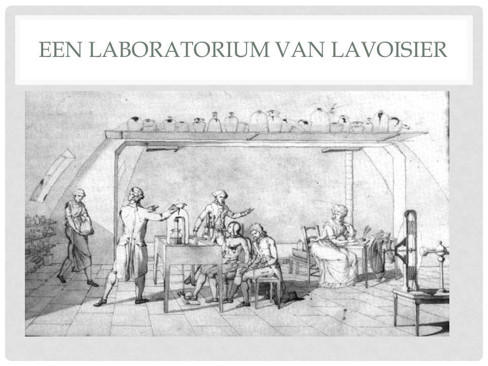 Een laboratorium van Lavoisier