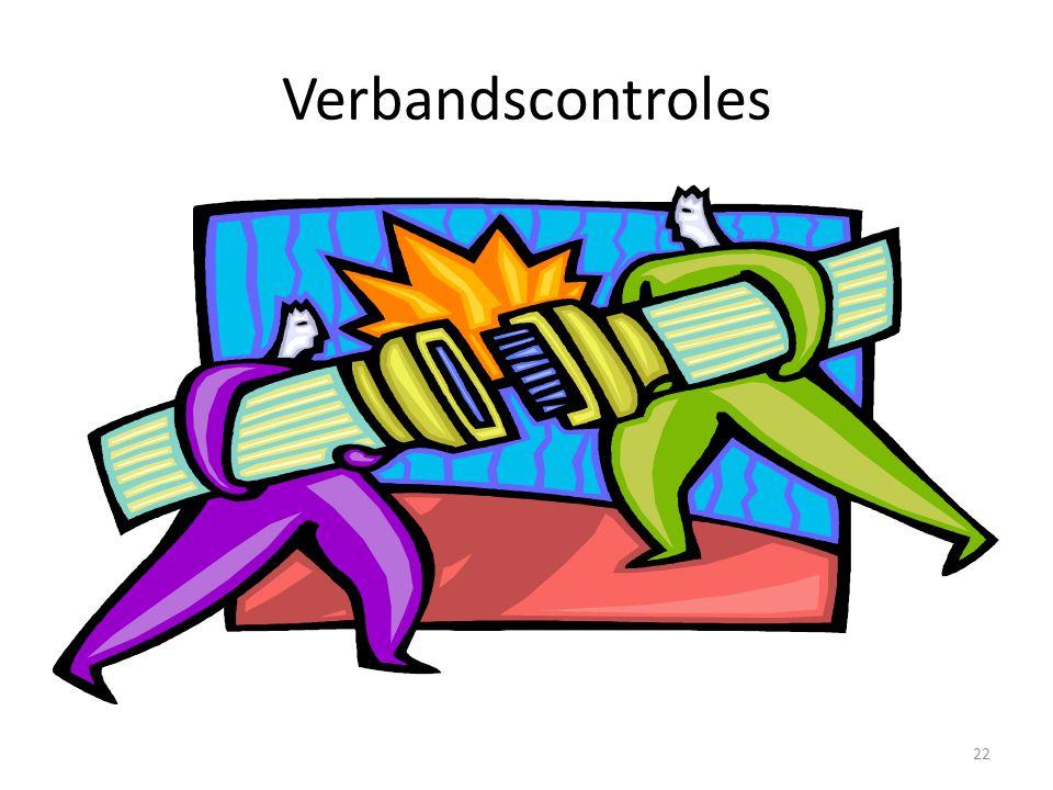 Verbandscontroles