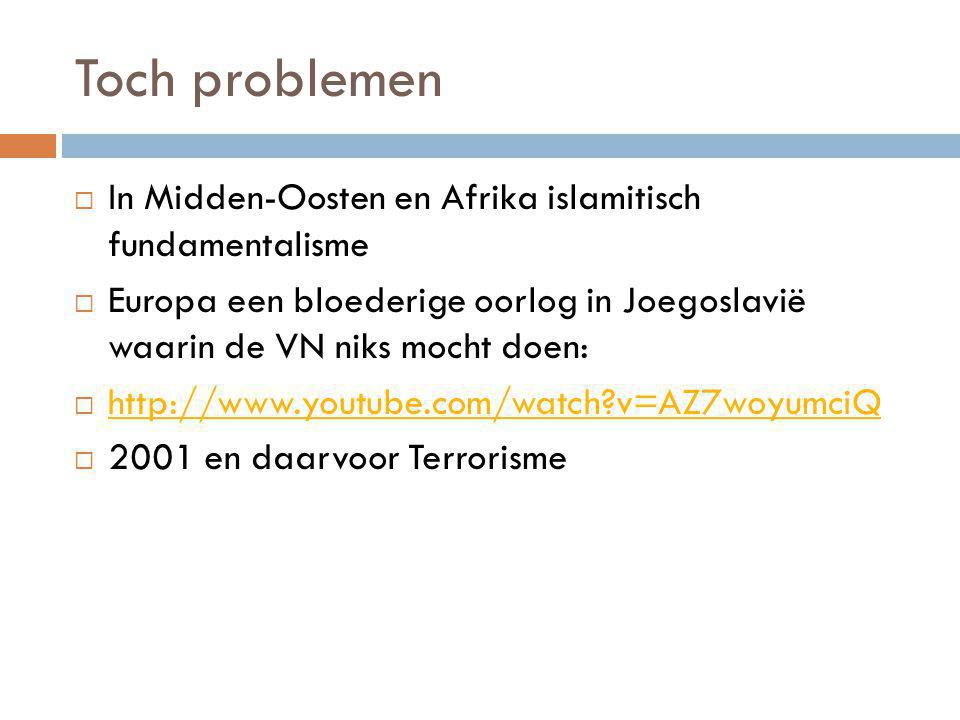 Toch problemen In Midden-Oosten en Afrika islamitisch fundamentalisme